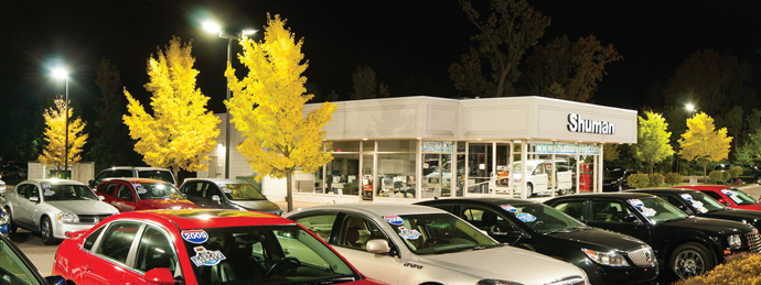 Auto Dealership LED Lighting