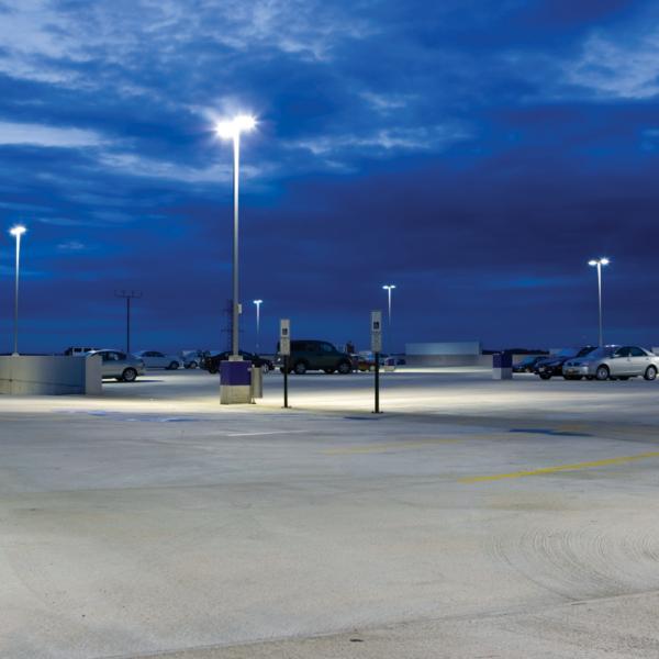 3set LEDLighting ParkingLot