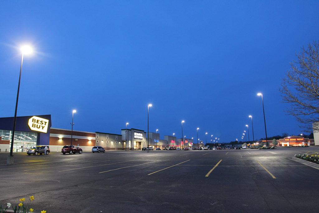 Led Parking Lot Lights Turnkey Area Lighting Em Visual