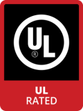 Badge UL Rated