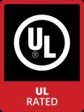 Badge UL Rated