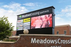 Meadows Crossing display