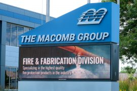 Macomb Group full color led sign