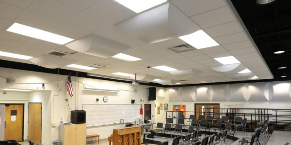 Flushing School Panel LED Lighting01