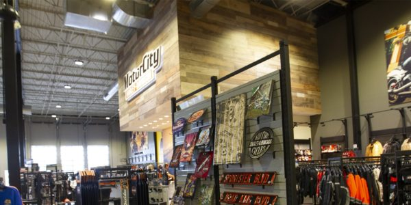 Harley Davidson Retail LED Lighting Min
