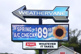 Weathervane Heating and Cooling