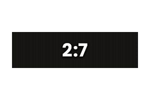 72x252 - 2:7 Ratio