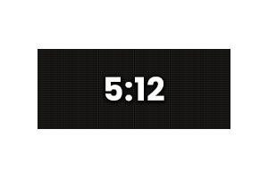 90x216 - 5:12 Ratio
